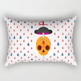 Bull's revenge Rectangular Pillow
