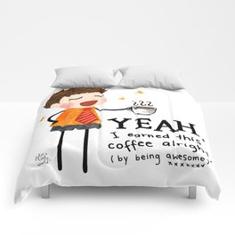 By Being Awesome Comforters
