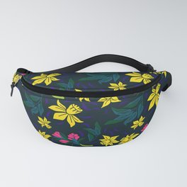 Narcissus pattern Fanny Pack