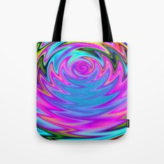 Psychedelic 60s Tote Bag