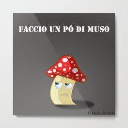 Muso! Metal Print