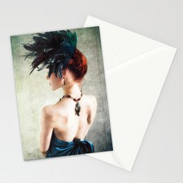 Madame Peacock Stationery Cards