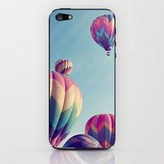 the higher we soar iPhone & iPod Skin