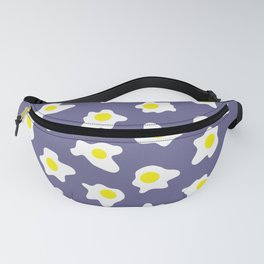 Eggs Over Blue Fanny Pack