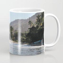 Mexico Secluded Beach Paradise  Coffee Mug