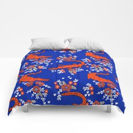 Florida University gators swamp life varsity team spirit college football Comforters