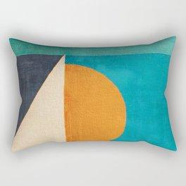 Regata al Tramonto Rectangular Pillow