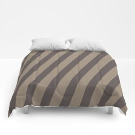 Rich Earth Stripes Comforters