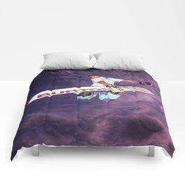 Snowboarding #2 Comforters
