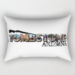 Tombstone Arizona Big Letter Rectangular Pillow