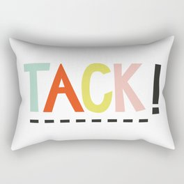 Tack Rectangular Pillow