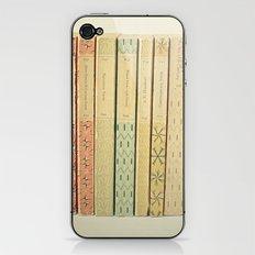 Old Books iPhone & iPod Skin