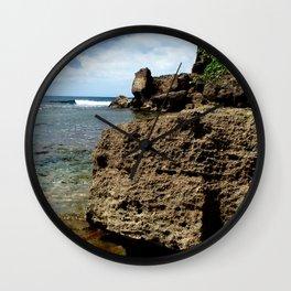 Rincon @ secret spot Wall Clock