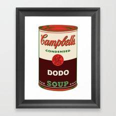 Dodo Soup Framed Art Print