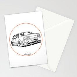 Crazy Car Art 0215 Stationery Cards