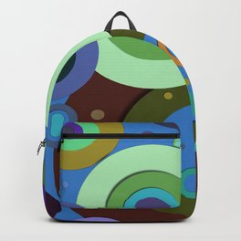 Op Art #9 Backpack