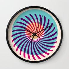 HUKUMU - peacock Wall Clock