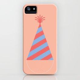 #43 Party Hat iPhone Case