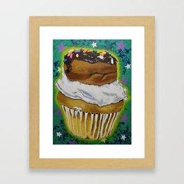 DonutCupcake Framed Art Print