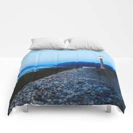 Columbia River Gorge Comforters