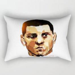 Nick Diaz Rectangular Pillow