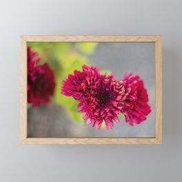 Mums the Word Framed Mini Art Print