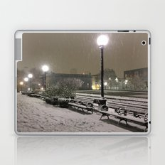 Romantic Seattle Snow At Night Laptop & iPad Skin