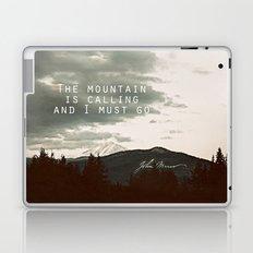 The Mountain is Calling Laptop & iPad Skin