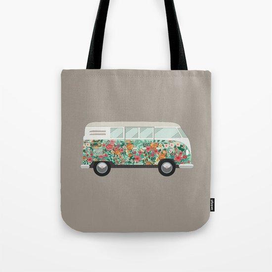 Hippie van Tote Bag