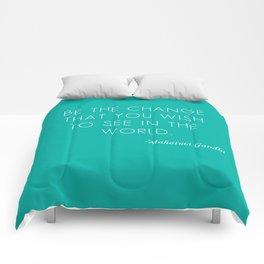 Mahatma Ghandi quote Comforters