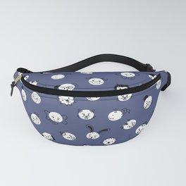 Kids Animal Polka Dots Blue White Fanny Pack