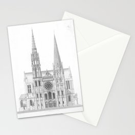 Cathedrale De Chartres Chartres Cathedral Stationery Cards