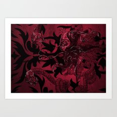 In The Pink Art Print
