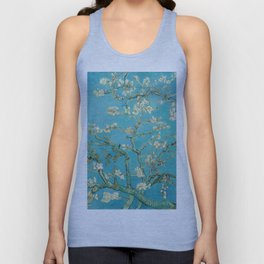 Van Gogh Almond Blossoms Painting Unisex Tank Top