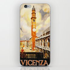 Vintage Vicenza Italy Travel iPhone & iPod Skin