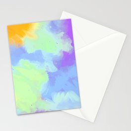 watercolor paint art Stationery Cards