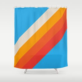 Classic Retro Gefjun Shower Curtain