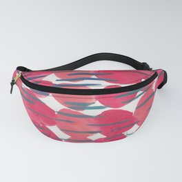 30   | 190408 Red Abstract Watercolour Fanny Pack