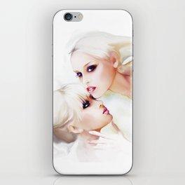 two iPhone Skin