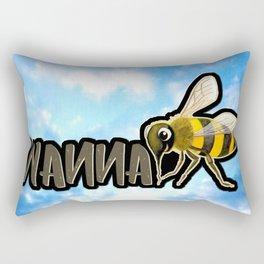 WANNA BEE Rectangular Pillow