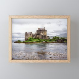 Castle on the Loch Framed Mini Art Print