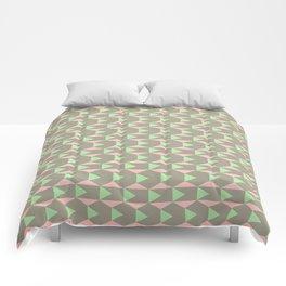 Brown Pink Comforters
