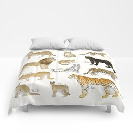 Wild Cats Comforters