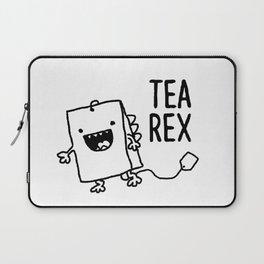 Tea Rex Funny Tea Bag T Rex Pun Laptop Sleeve