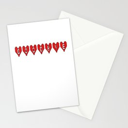 Goodbye Hearts Stationery Cards