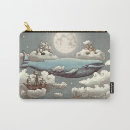 Ocean Meets Sky Carry-All Pouch