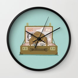 fantastic beasts and where to find them Wall Clock