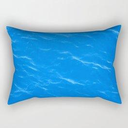 Colors of the Sea Water - Sky Blue Rectangular Pillow