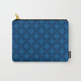 Metatron's Cube Damask Pattern Carry-All Pouch