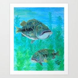 Bass Pairs Art Print